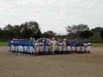 花見川区少年軟式野球連盟 第25回秋季大会閉会式