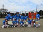 花見川区少年軟式野球連盟 第25回秋季大会Cチーム優勝!